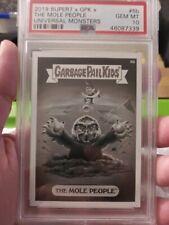 2019 Garbage Pail Kids Universal Monsters 6b The Mole People PSA 10 Gem Mint 339