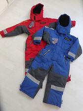Schneeanzug, einteilig, royalblau oder rot, von OUTBURST COMPANY. NEU!