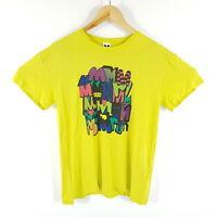 M Missoni T-Shirt Herren M Gelb Mehrfarbig S/S 2014 Cruise Viskose