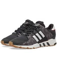 adidas Originals EQT Support RF Trainers - Core Black/Off White - Size UK 8