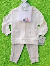 Unisex Baby Clothes : NWT Carter's 3 Pc. ANIMAL Hoodie, Pant, & Bodysuit Set 6M