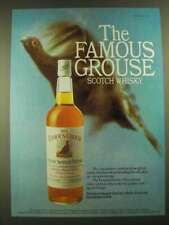 1977 The Famous Grouse Scotch Ad