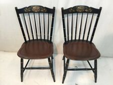 Hitchcock chair co Black/riverton Stonington Side Chairs used hitchcock dot Com