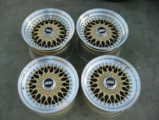 Bbs Rs Porsche 930 911 944 928 Rims 5x130 Wheels 16x8 16x10 3 Piece Staggered
