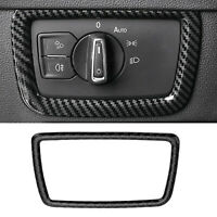 ABS Carbon Fiber Inner Headlight Switch Button Cover Trim For VW Arteon 2019 T5