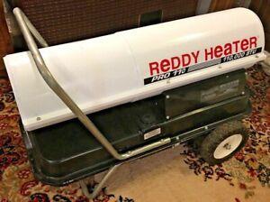 Reddy Pro10 Kerosene Torpedo Heater 110,000 BTUUsed One Season Works Great