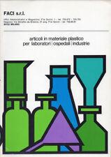 1975  CATALOGO ARTICOLI IN MATERIALE PLASTICO FACI – PLASTICA CENTROKAPPA DESIGN
