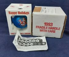 Vintage Campbell's 1993 Collectible Ornament - Blue - With Box