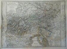 Stieler Landkarte Südost - Deutschland und nördl. Italien, Gotha Perthes 1869