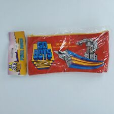 New Vintage Gobots Leader-1 Rayon Pencil Pouch Red Tonka 1984
