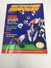 Nintendo Power Magazine March 1991 Volume 22 Metal Storm w/ Battletoads Poster