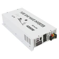 4000Watt Pure Sine Wave Inverter Solar Power Inverter 12/24/36/48V to 120V/220V