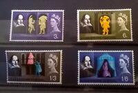 GB QEll Shakespeare Festival Phosphorous 1964 MNH SC 402p-405p SG 646p-649p LotS