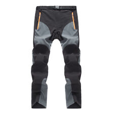 Mens Waterproof Combat Pants Outdoor Fishing Hiking Camping Quick-Dry Trousers