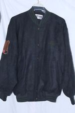 Vintage Classic Golf Sweater Wool Jacket Mens sz L Embroidered Back Canada Euc