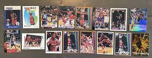 Lot x16. 88 JORDAN Lineup Kenner Basketball Rookie Card Pippen Barkley Miller