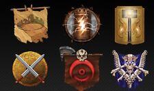 Warlord Saga of the Storm (Warlord CCG) : 10 AORS - BIG CLASSICS REPRINTED  OOP