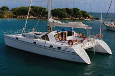 669070 Sailboat Catamaran Class Caribbean Sea A4 Photo Print