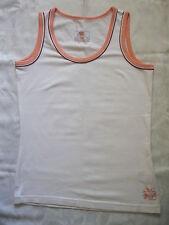 Damen T-Shirt Top Gr.S 36/38 S weiss figurbetont  Stretch