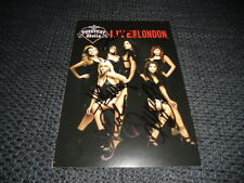 PUSSYCAT DOLLS signed Autogramme auf DVD-Cover Nicole Scherzinger InPerson LOOK