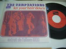 """THE TEMPTATIONS LET YOUR HAIR DOWN/ AIN'T NO JUSTICE 7"""""""