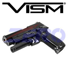 VISM Rifle Pistol Shotgun Red Laser Sight Metal Trigger Guard Mount Adjustable