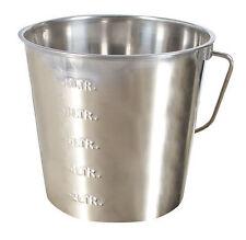 Kerbi Edelstahleimer 12,3 Liter mit Skalierung 29377