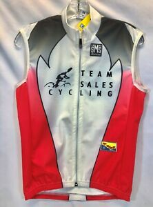 Santini Team Sales Cycling Wind Vest - Size XXL - Made in Italy