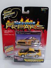 Johnny Lightning Street Freaks 1998 Acura Integra Type R Yellow HTF