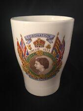 Queen Elizabeth Coronation 1953 Cup Brake Royal Memorabilia