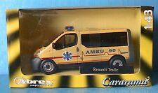 RENAULT TRAFIC 2 VITRE AMBU 90 BELGE 2002 CARARAMA ABREX 1/43 BELGIE PHASE 1