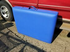 BESTMASSAGE TABLE PORTABLE BLUE NEVER USED