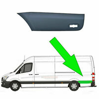 VW Crafter LWB Plastic Protective Side Moulding Strip Trim N/S 2006 -2015