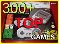 Super Nintendo Classic Mini SNES - modded +300+ games JRPG Edition