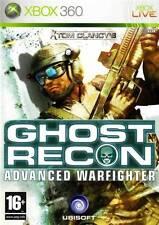 Tom Clancy'S Ghost Recon Advanced Warfighter Ottima 1a Stampa Xbox 360 Completa