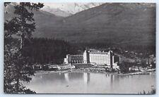 Postcard Canada 1947 Chateau Lake Louise Vtg View Alberta C2
