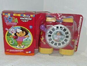 2003 Dora The Explorer 3D View master Binoculars New In Package