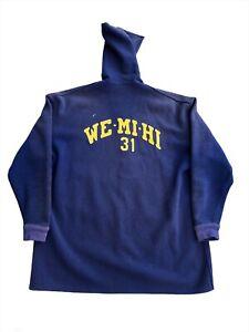 Vintage 50s Wool Benchwarmer Jacket Coat Sideline Varsity West Milwaukee High