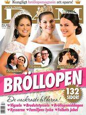Hochzeit Wedding Prinzessin Princess Victoria Madeleine Philip Bröllopen DAM