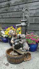 Ubbink Terrassenbrunnen-Set Regina, Wasserspiel, Gartenbrunnen, Springbrunnen