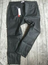 Sheego Hose Jeans beschichtet Damen schwarz (925) Übergröße NEU