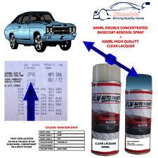 Vw Volkswagen aerosol Spray Paint TOSSABLAU,LA5R,A5R Blue