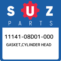 11141-08D01-000 Suzuki Gasket,cylinder head 1114108D01000, New Genuine OEM Part