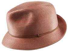 MAKINS HATS Trilby M 58 7 1/4 Hand Crafted Silk Fedora Non Crushable