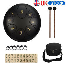 More details for 8 notes steel tongue drum handpan 6 inch steel tongue drum tongue drum tankdrum