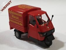 """Busch 48450-117 PIAGGIO APE 50"""" 100 Years Toys passages """"H0 1:87 NEW OVP"""