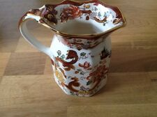 "Mason's Ironstone Hydra Jug / Pitcher 14cm in Hieght "" Brown Velvet """