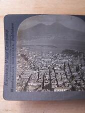 Stereo View Stereo Card - Italy - Mount Vesuvius