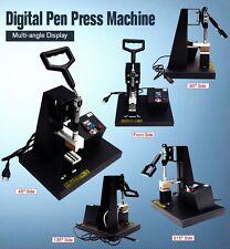 110V/220V Sublimation Pen Heat Press Machine Digital Controller