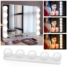 5 Bulbs LED Vanity Dimmable Mirror Lights Lamp 3 Color Modes Kit Makeup Mirrors